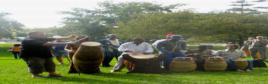 Southern Volta drummers